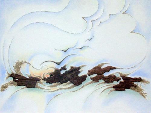 'Naturklaenge' von Sandmalerin