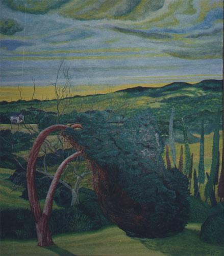 'Landschaftsgarten' von  Dietrich Guertler