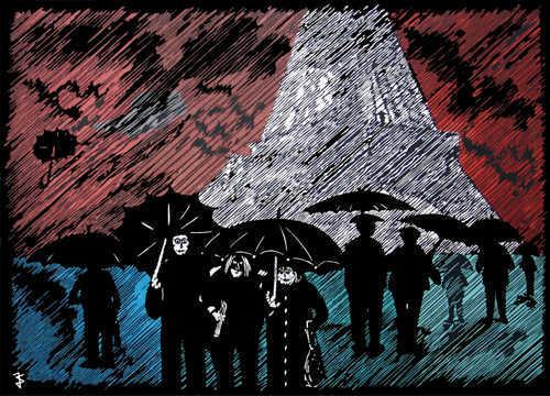 """""""Paris im Regen"""""""