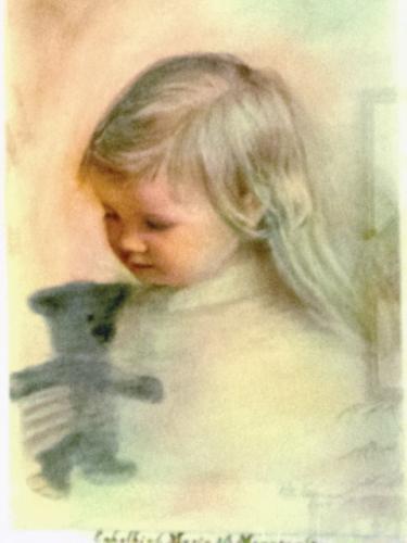 'Enkelkind Marie' von  Willi Neumann