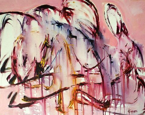 'begegnung' von Ingeborg Berger