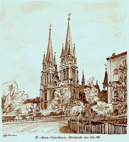 'St. M. R. Pfarrkirche' von  Willi Neumann