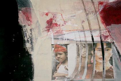 'Aung San Suu Kyi' von Monika Stoffel