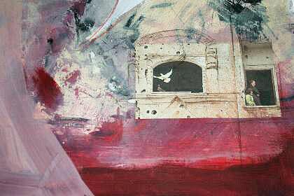 'Without peace' von Monika Stoffel