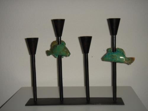 'Leuchter' von Catherine Scholz