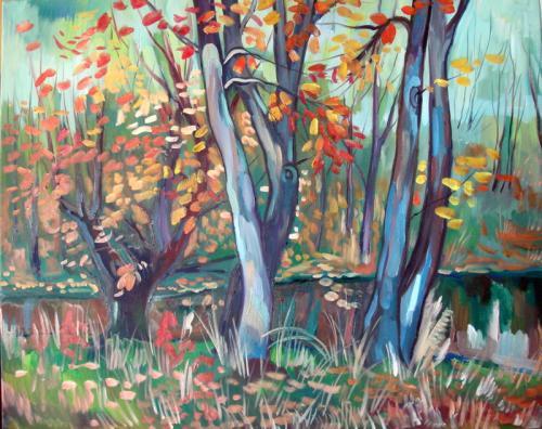 Herbstfarben in 3D