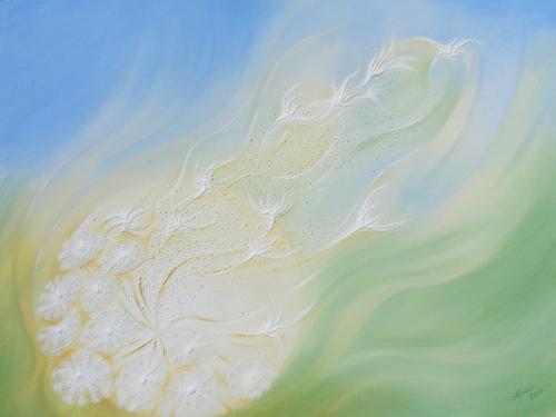 'Leichtigkeit' von Sandmalerin