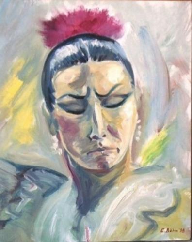 Flamencotänzerin I