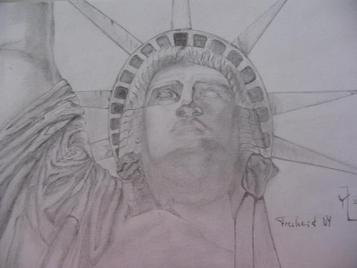 'freiheit NY' von  laresser