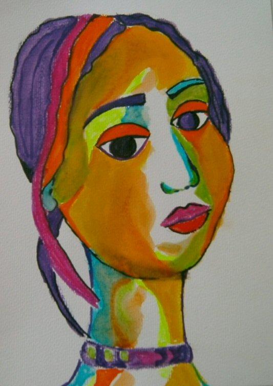 'Violett' von  gabi gigi adelung