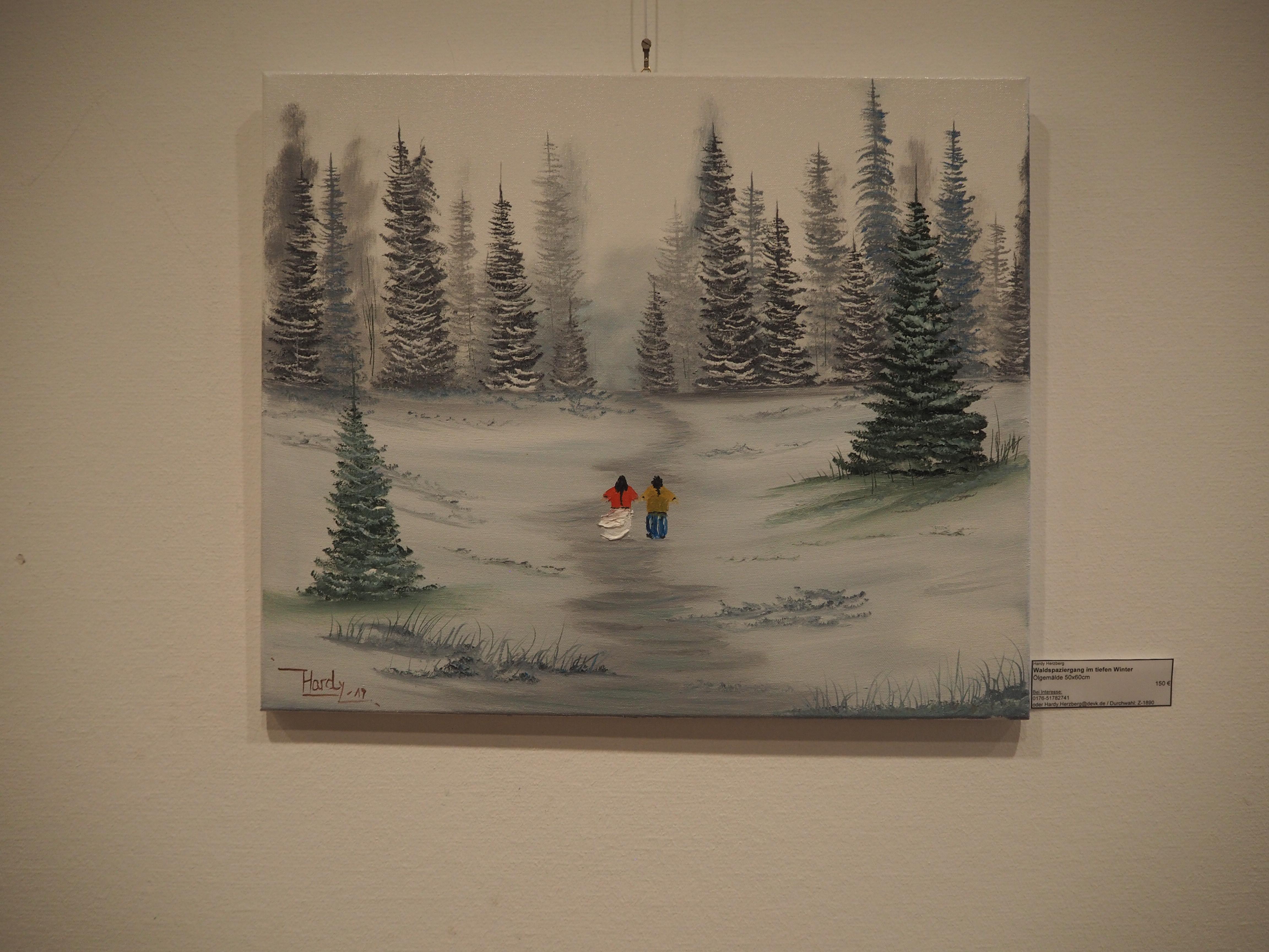'Spaziergang im Schnee' von Hardy