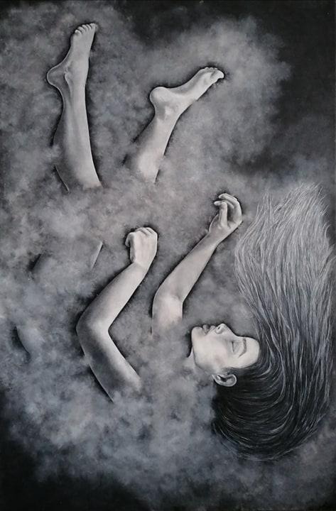 'In Gedanken versunken' von  Gabriele Siemens
