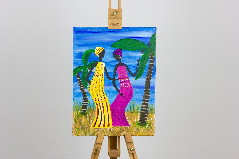 'African dancing ladies' von Ankes Gallery