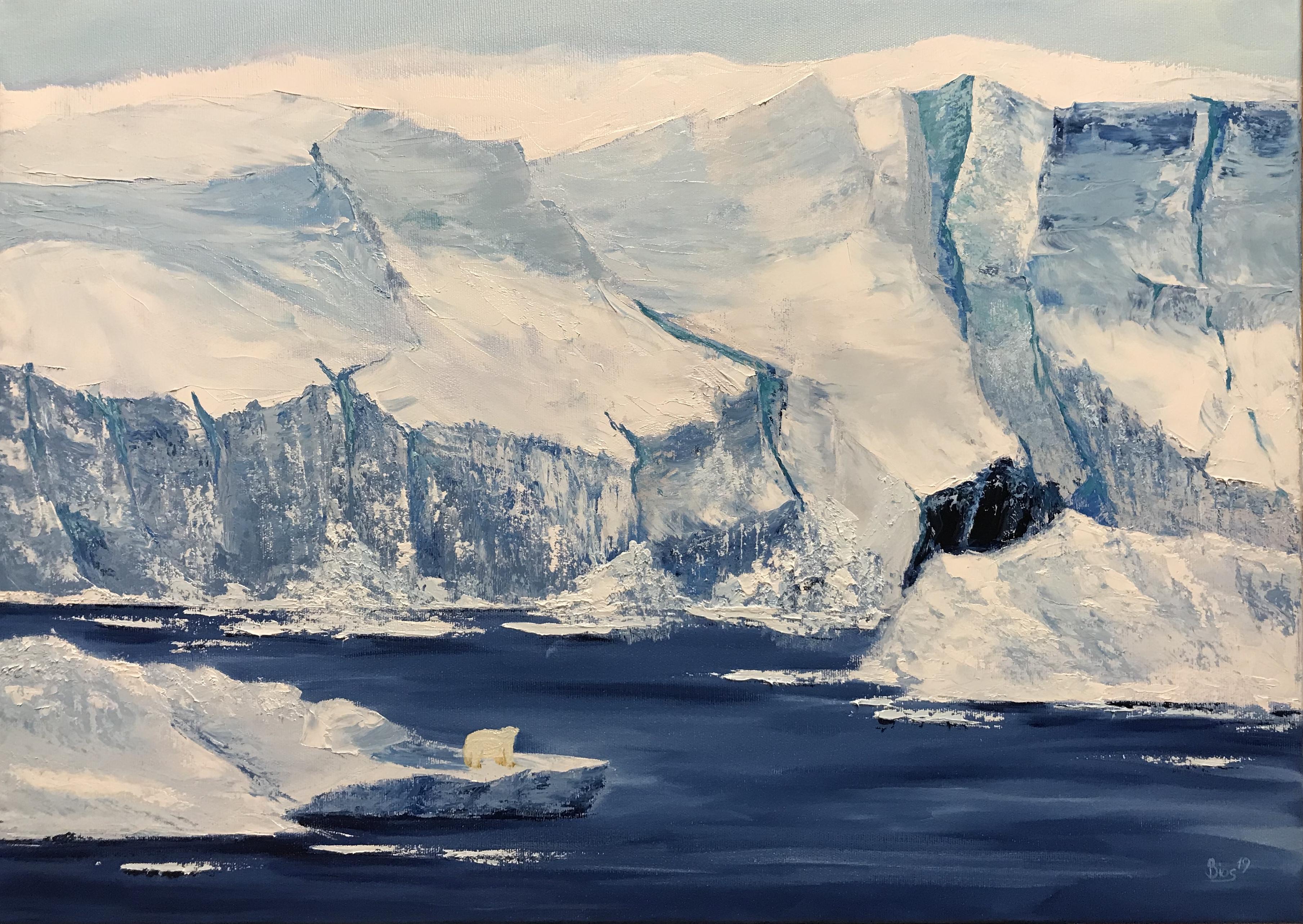 'Das Eis schmilzt' von BiosKunst