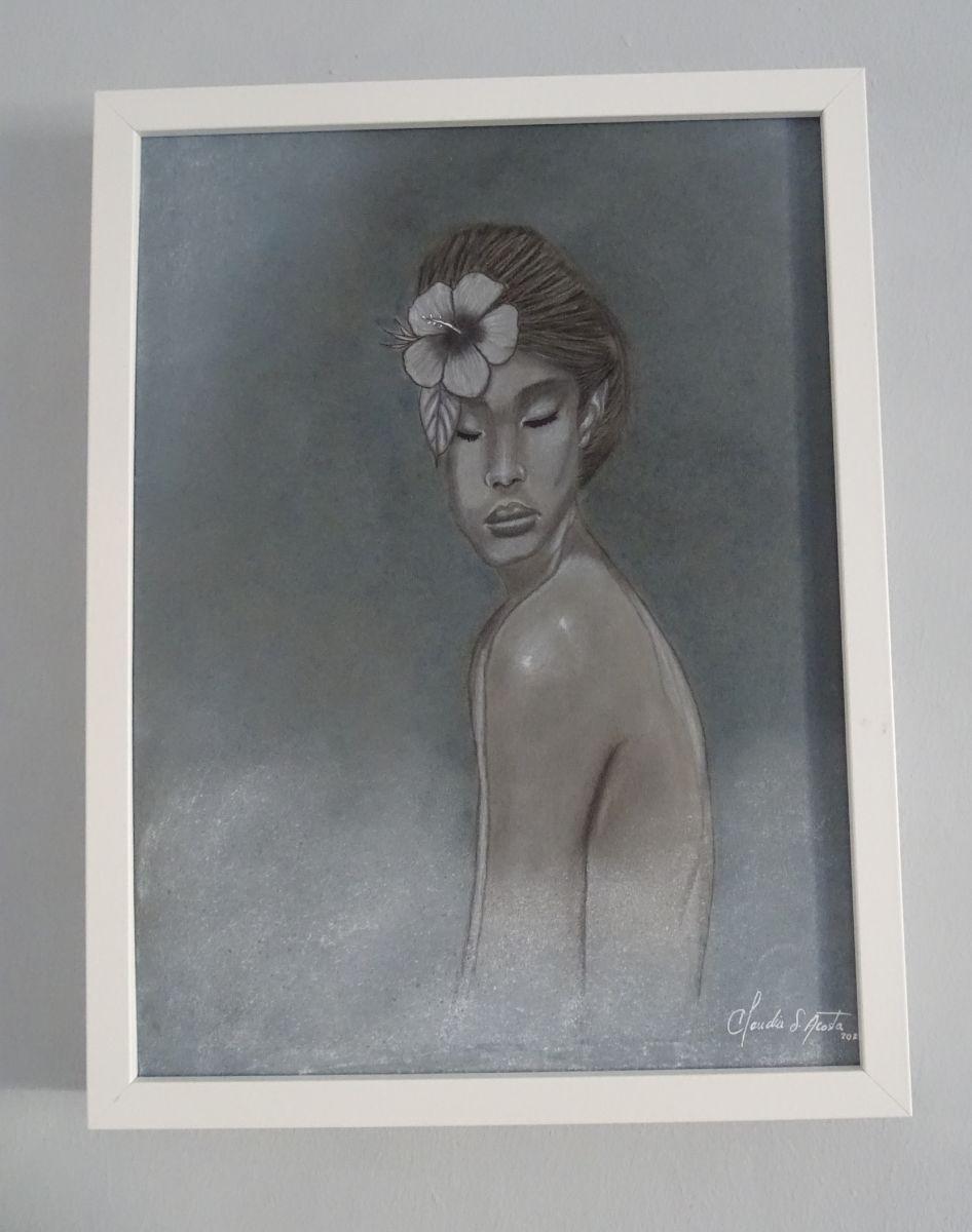 'Hibiskus' von  Claudia Acosta