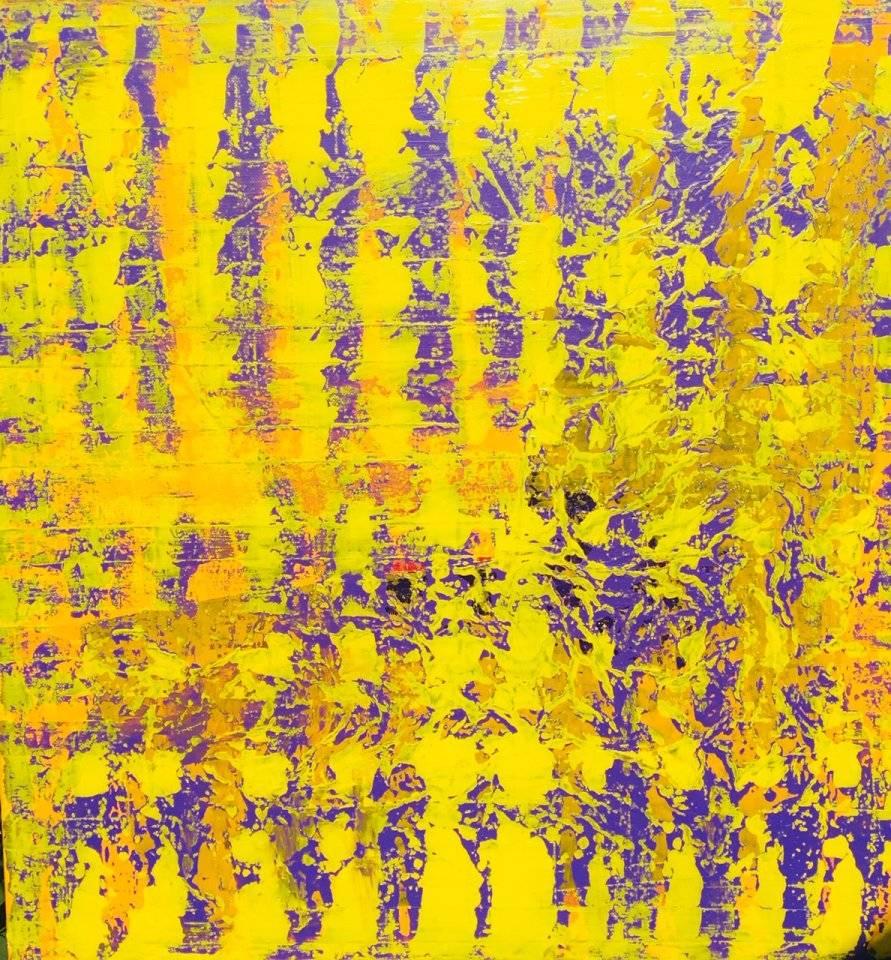 'Yellow Pattern' von  Volker Franzius