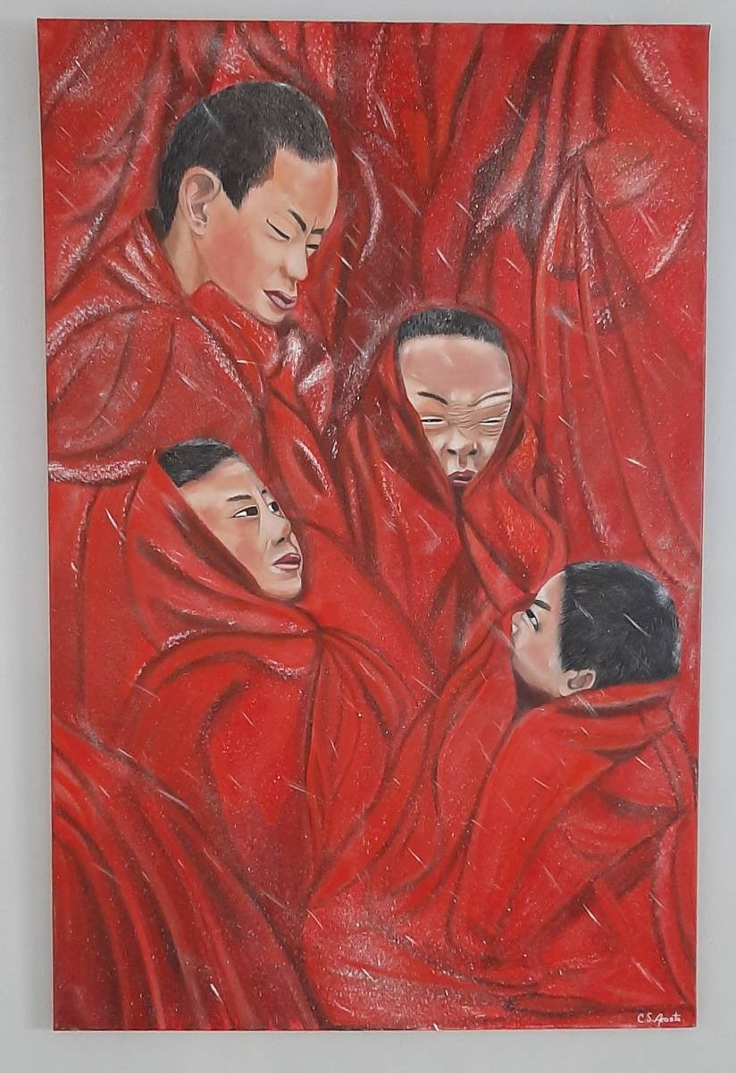 'Schneefall in Tibet' von  Claudia Acosta
