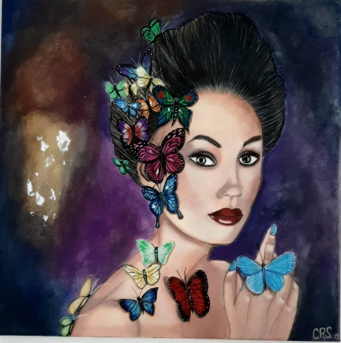 'Schmetterlinge' von Claudia Acosta