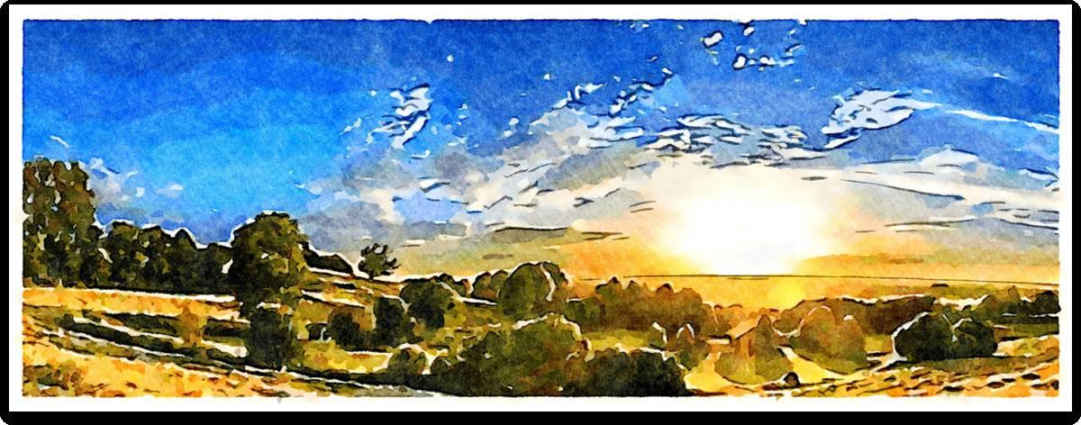 'Aufgehende Sonne' von  SaskiaBJ
