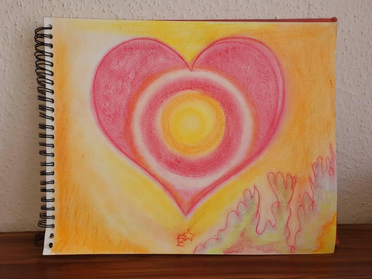 'POWER OF LOVE & LIGHT' von  Dual ARTist The legend of moveing ART