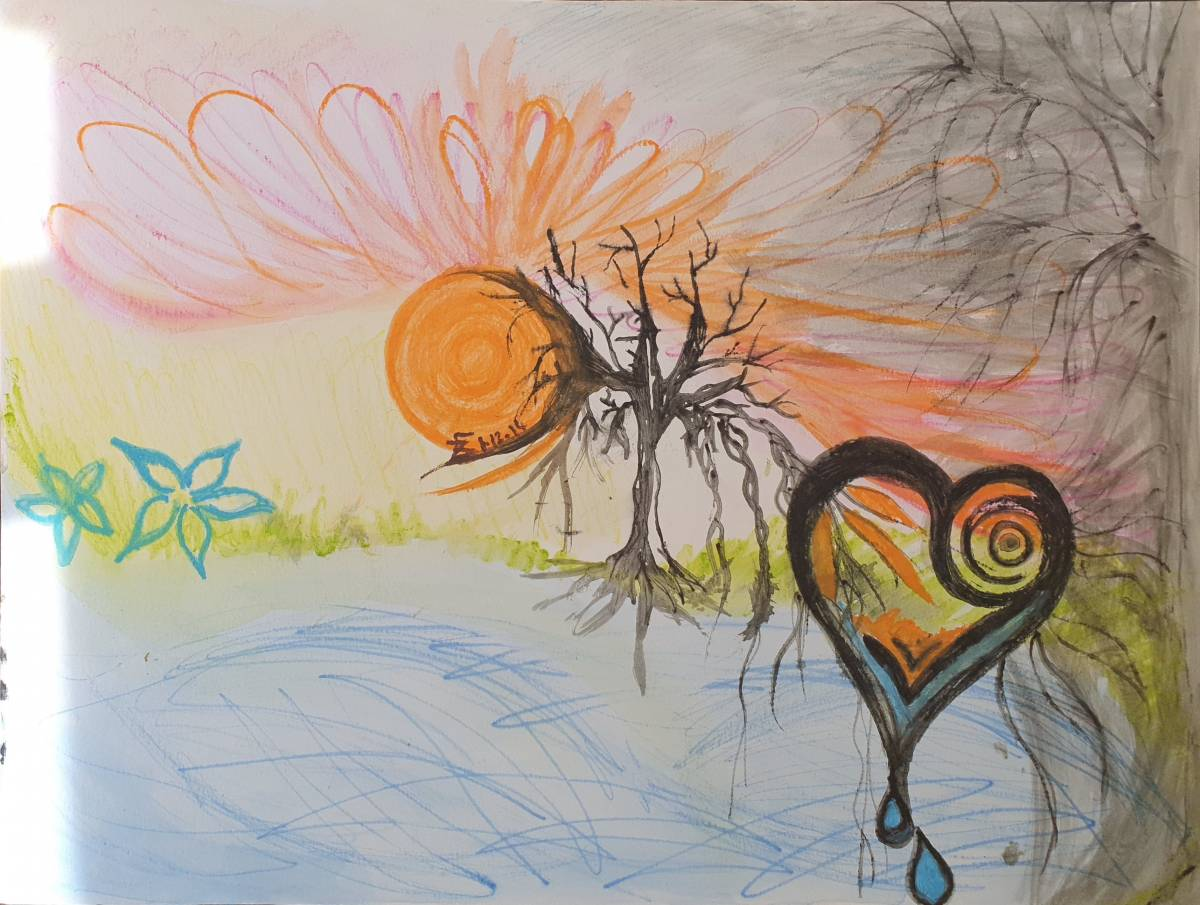 'Lightful Awakening' von  Dual ARTist The legend of moveing ART