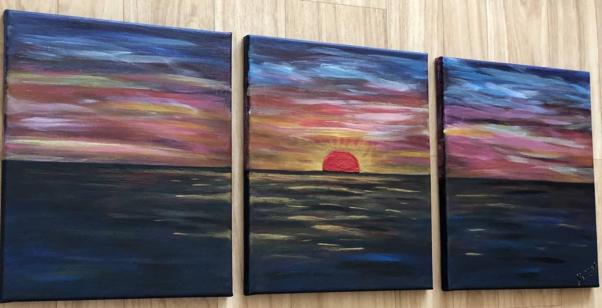 'Red Sunset' von  Ankes Gallery