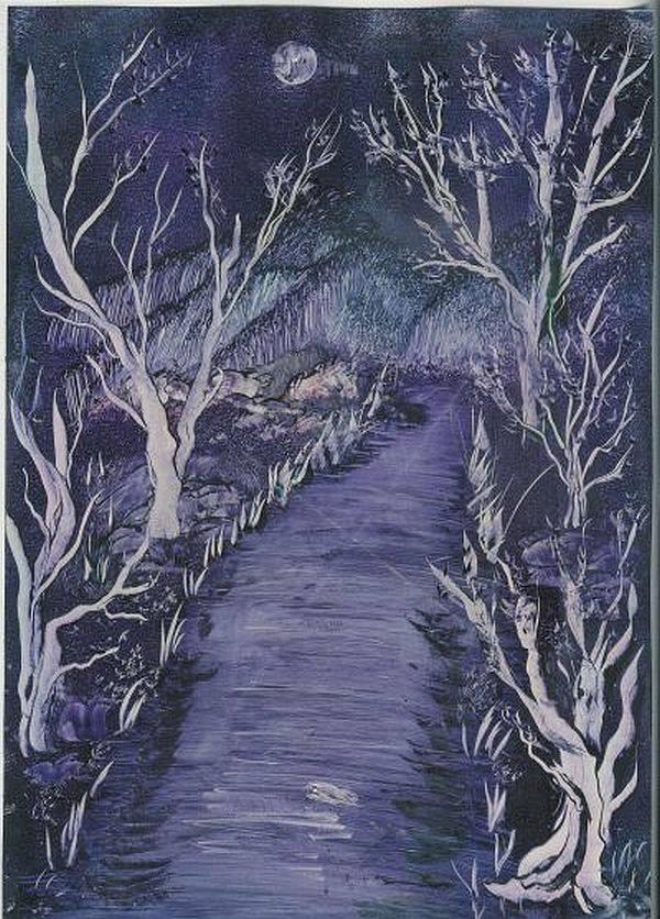 'Nachtweg 2' von  Anna Banfhile