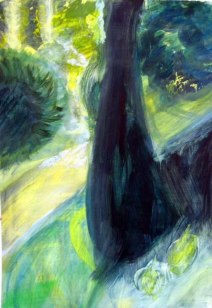 'Kunst in Grün' von Jacqueline Schmid