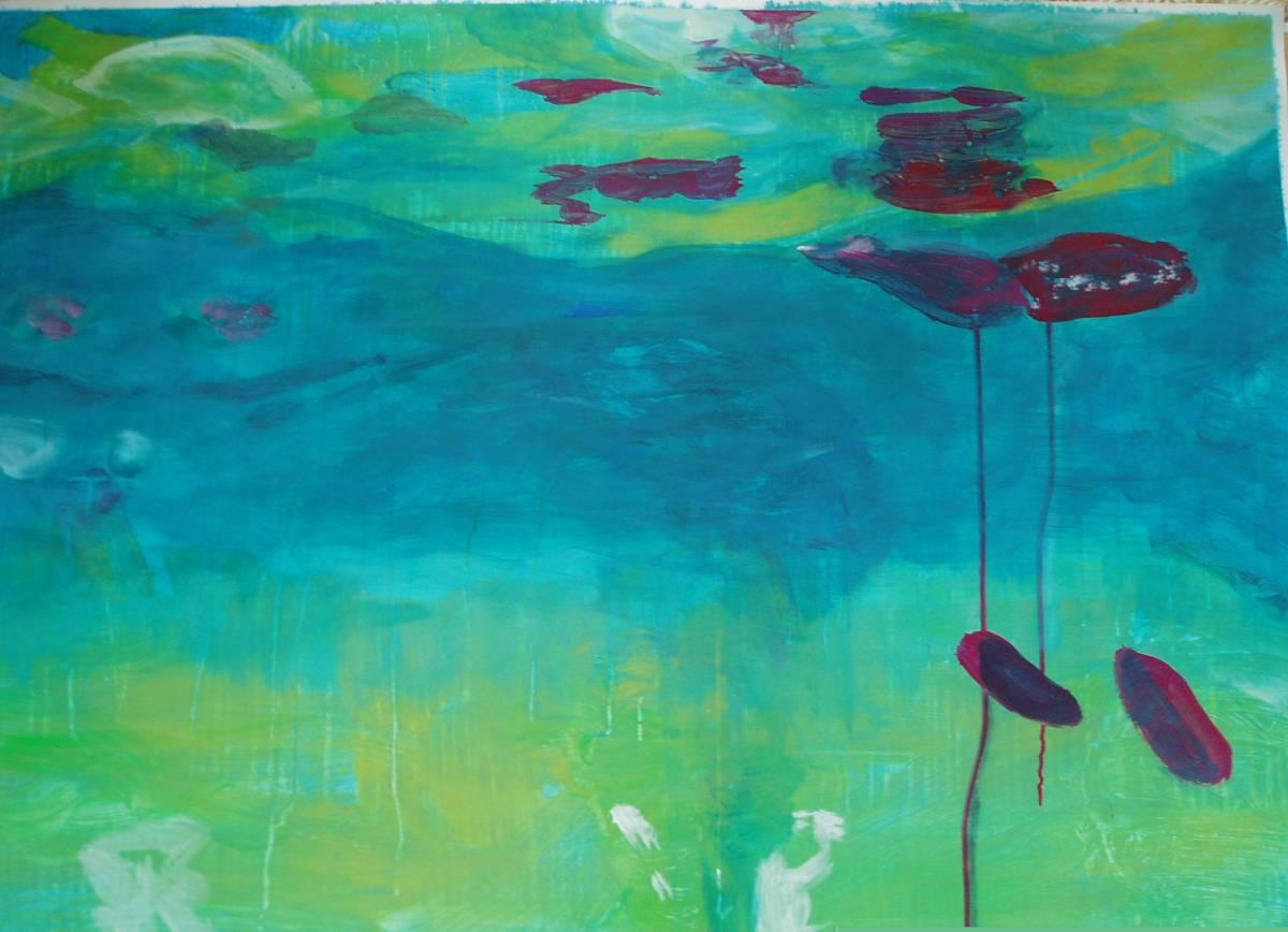 'unter Wasser' von Jacqueline Schmid