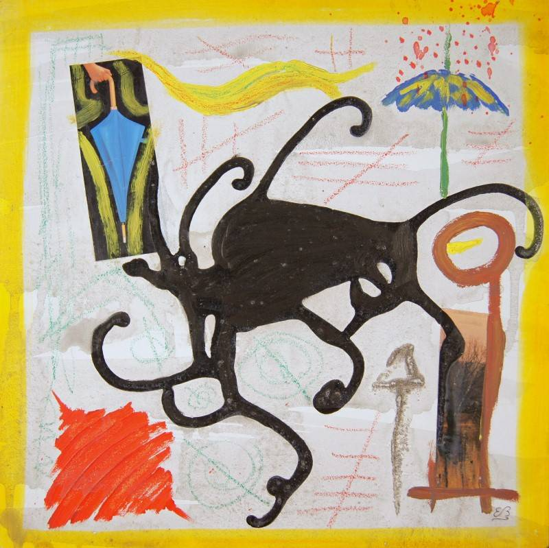 'L'ombrello III' von Erwin Bruegger