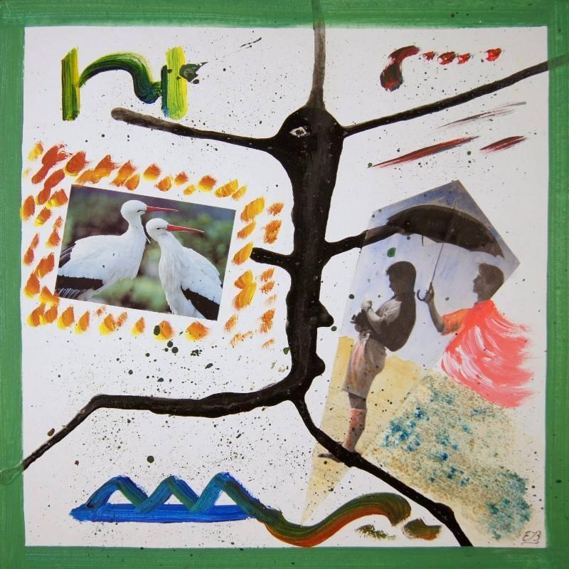 'L'ombrello V' von  Erwin Bruegger
