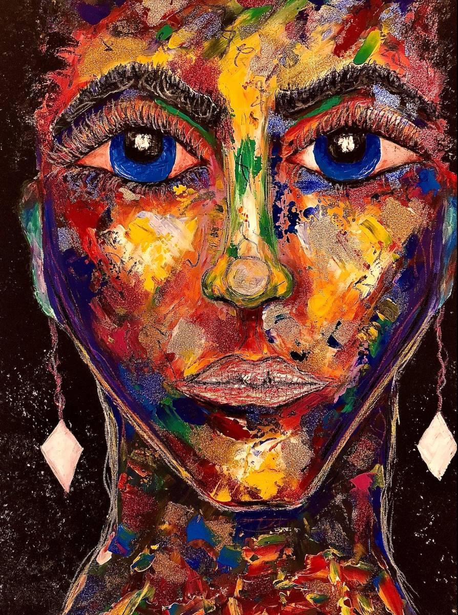 'Original Acryl - Colorblind' von Leonie Bandurski