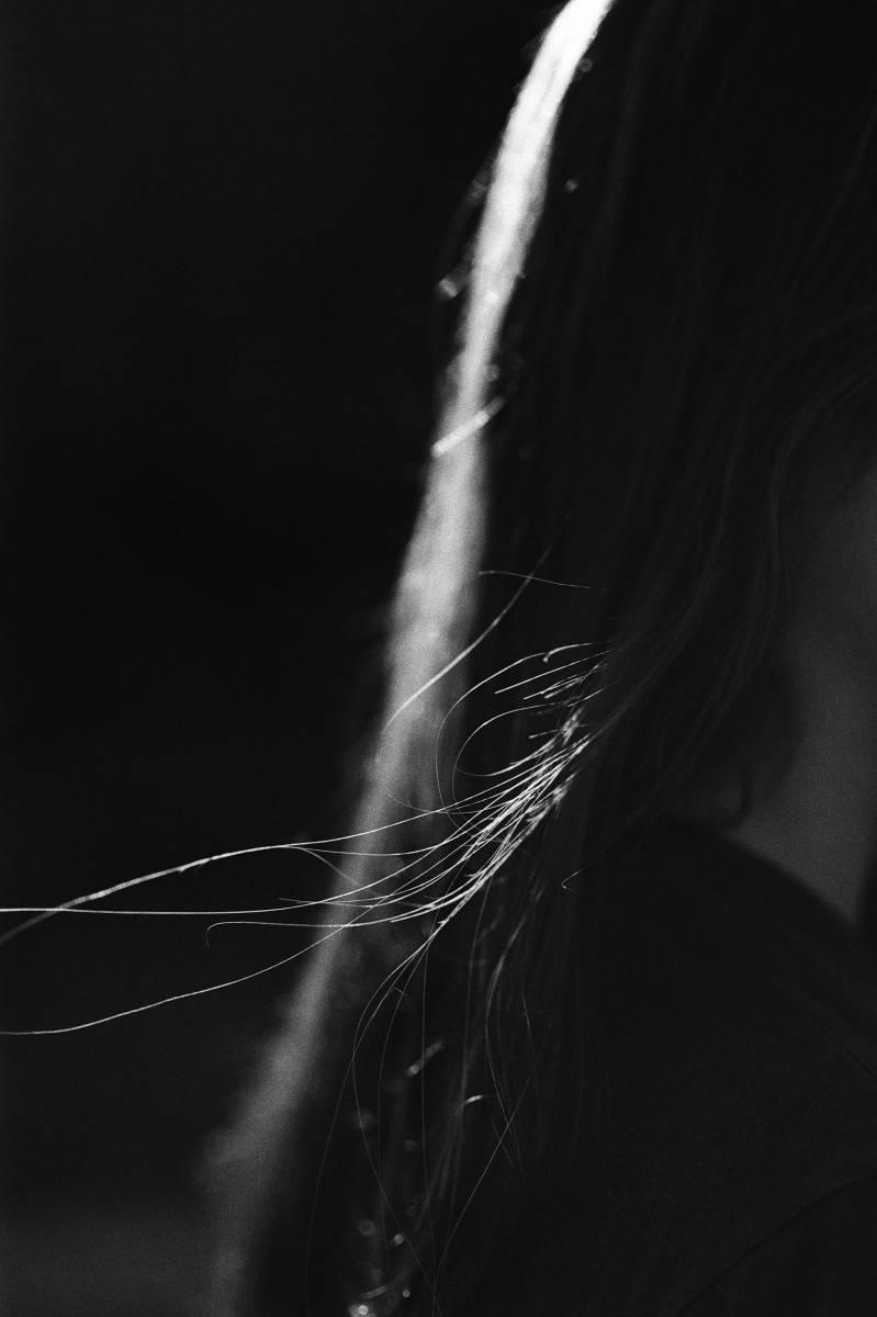 'Sun, hair & Lisa' von  PeterGrosse