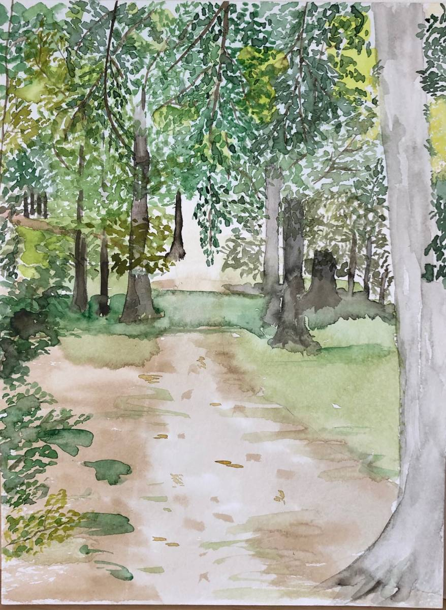 'der Weg' von  Anja Napiany