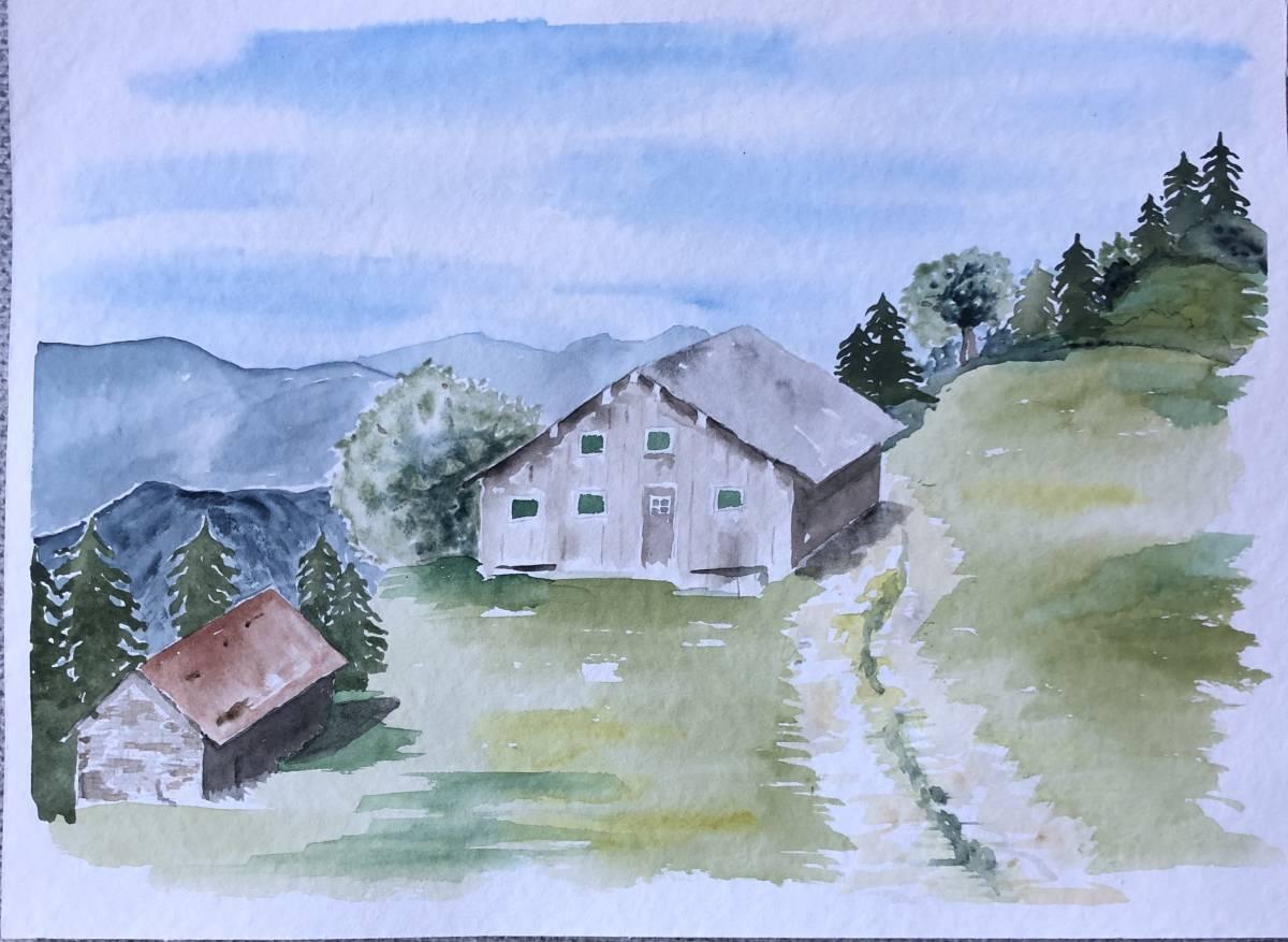 'Berghütten' von  Anja Napiany