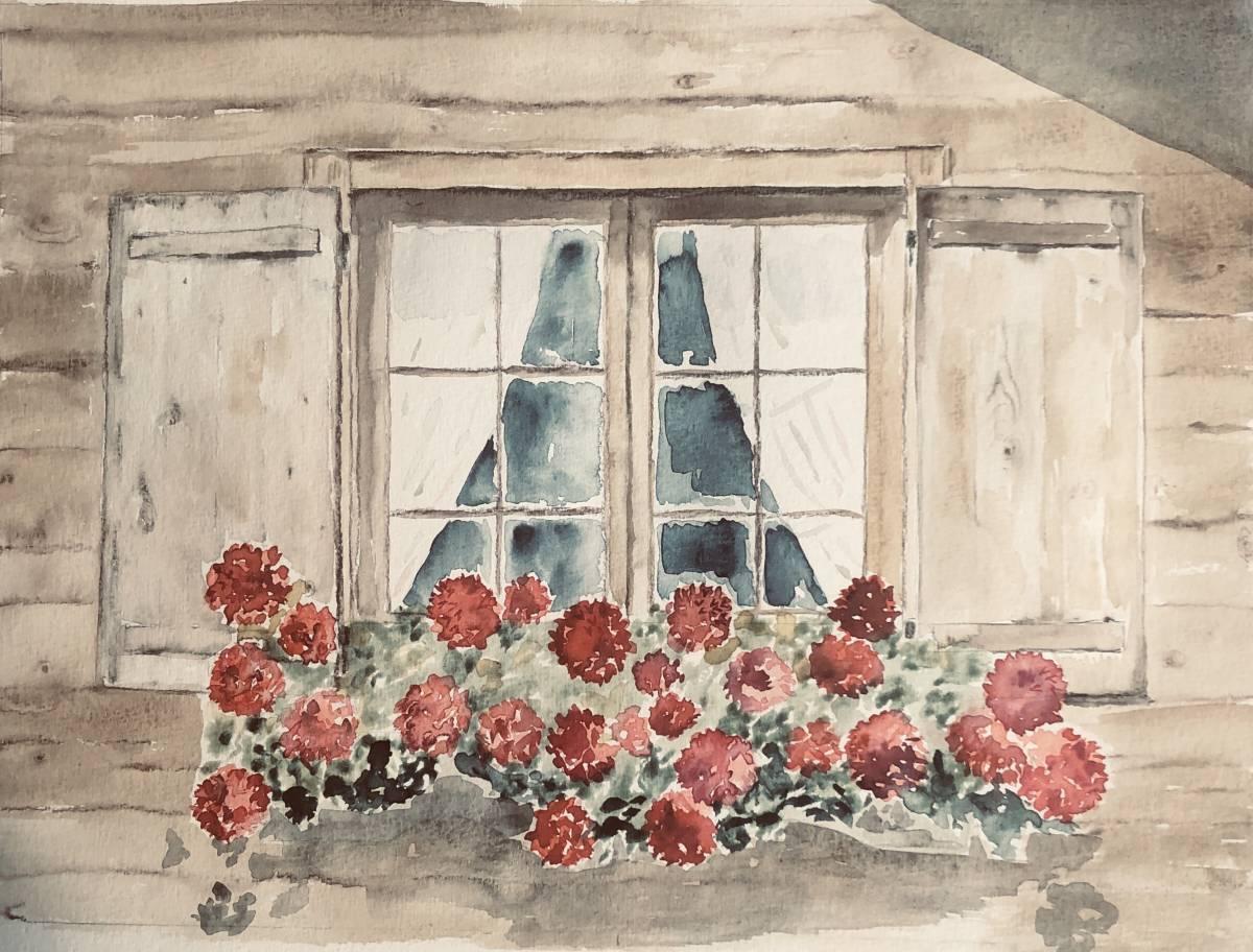 'Blumenfenster' von  Anja Napiany