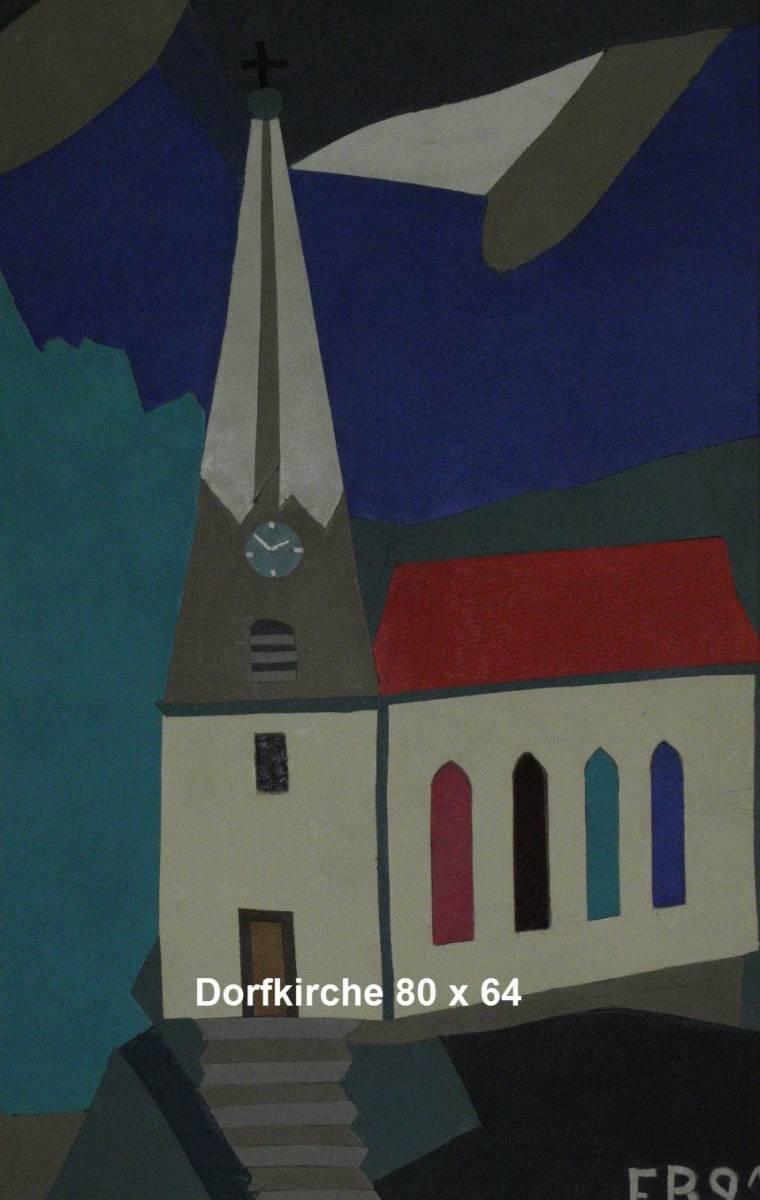 'Dorfkirche' von  Kunstbilder