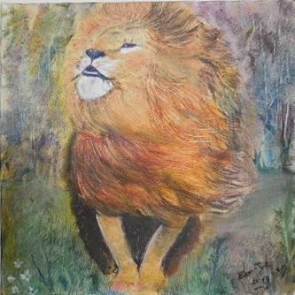 'Löwe' von  Elena Etzel