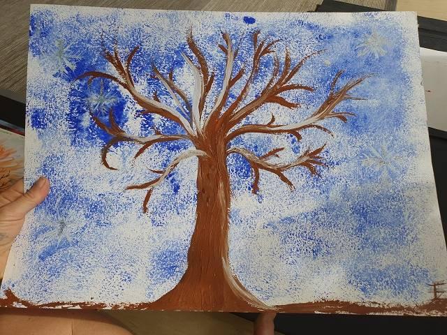 'Winters Beauty & Ice blue Eyes' von spirit