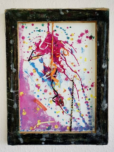 'Carneval v.s Träume Leben' von  Dual ARTist The legend of moveing ART
