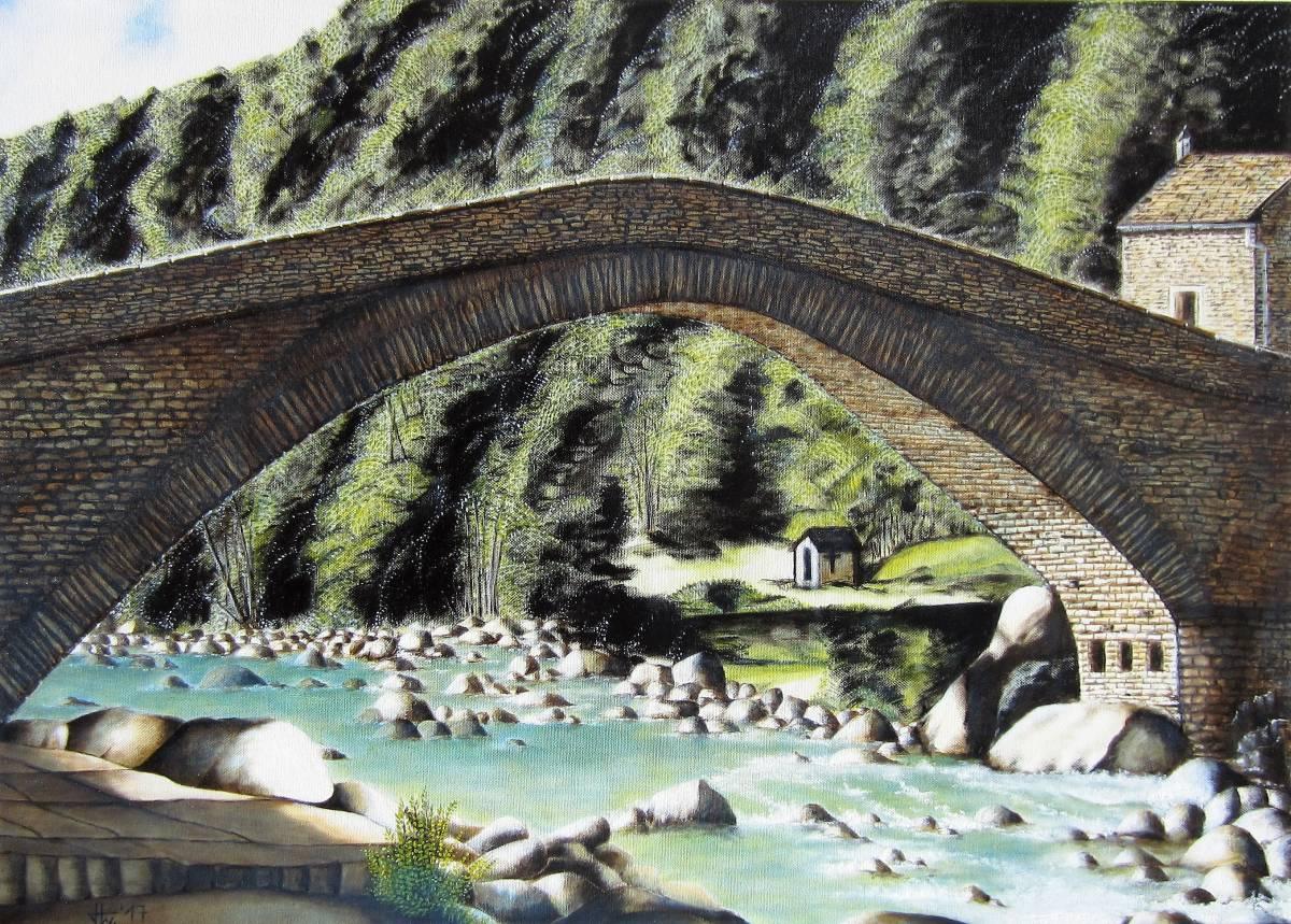 'Brücke in Fondo' von Holm