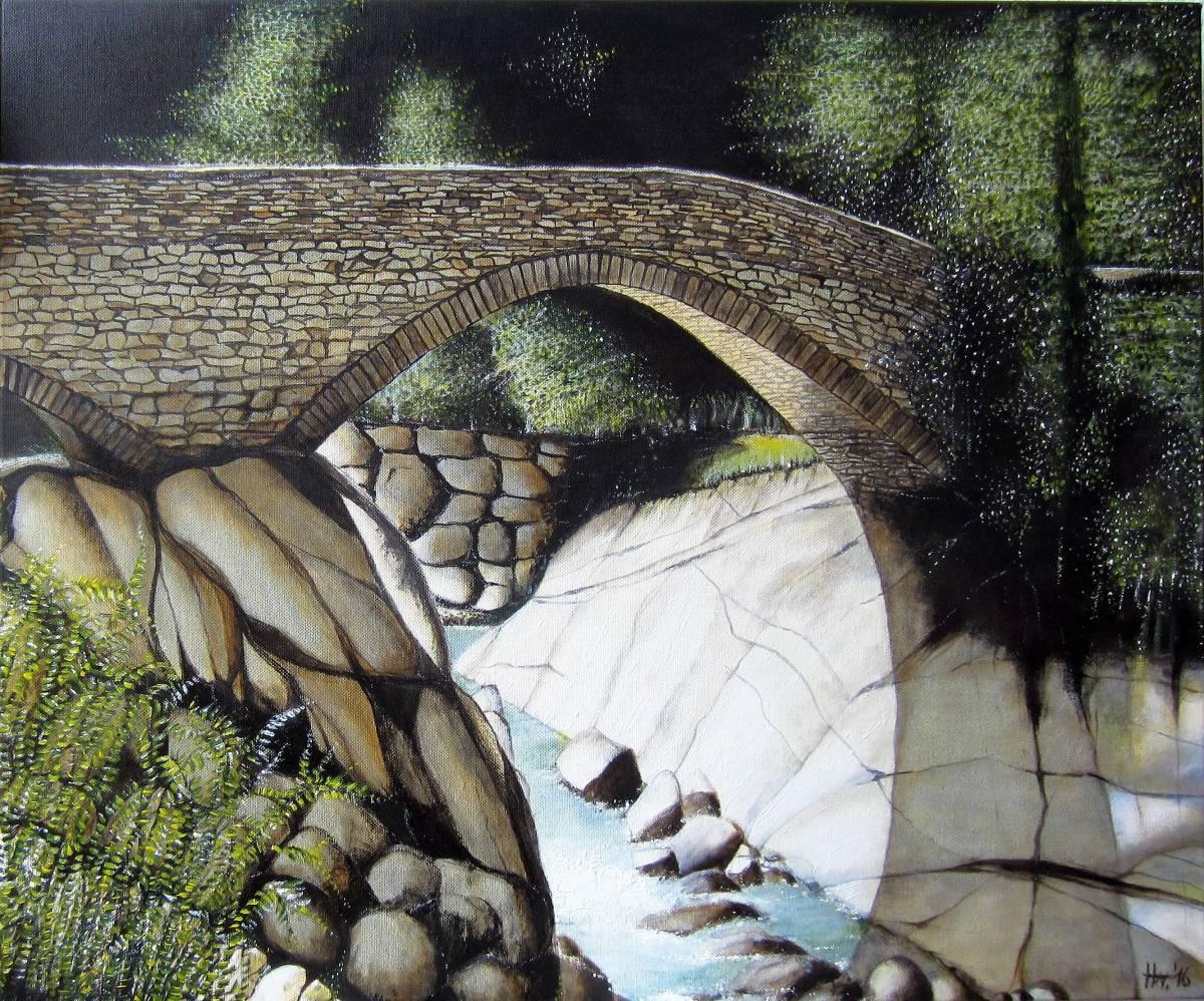'Brücke in Piedicavallo' von Holm