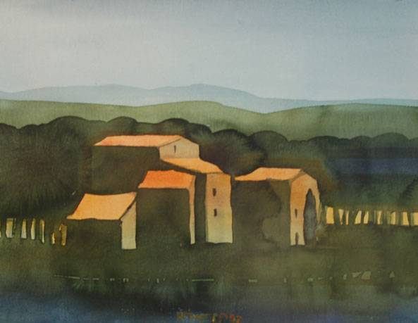 Hof bei Arezzo (Toscana)