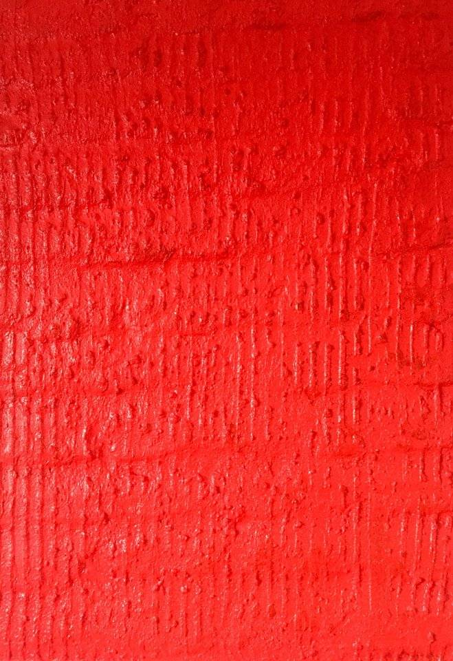 Red Structured Surface Ahrenshoop