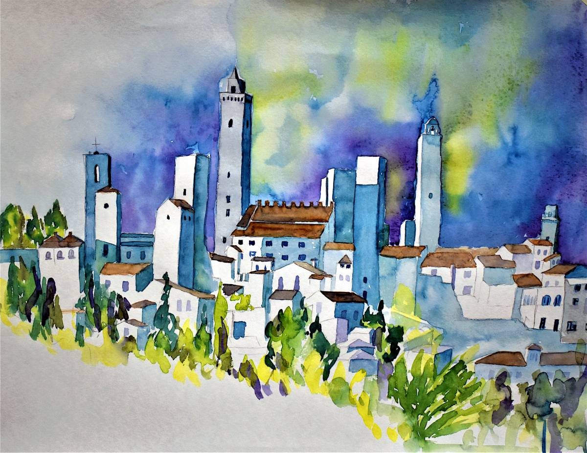 'San Gimignano' von  win