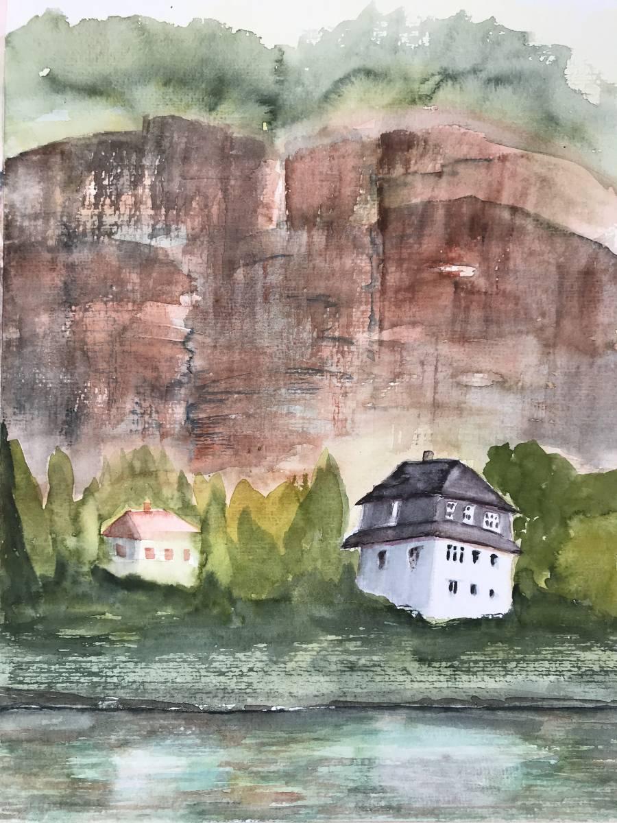 'Der rote Fels in Pallien' von  Susanne Binder