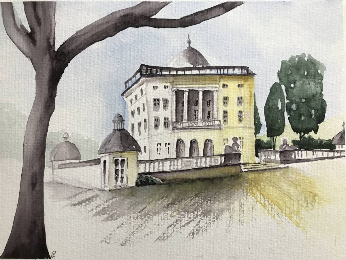 'Schloss Monaise' von Susanne Binder