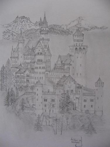An Kini sei Schloss