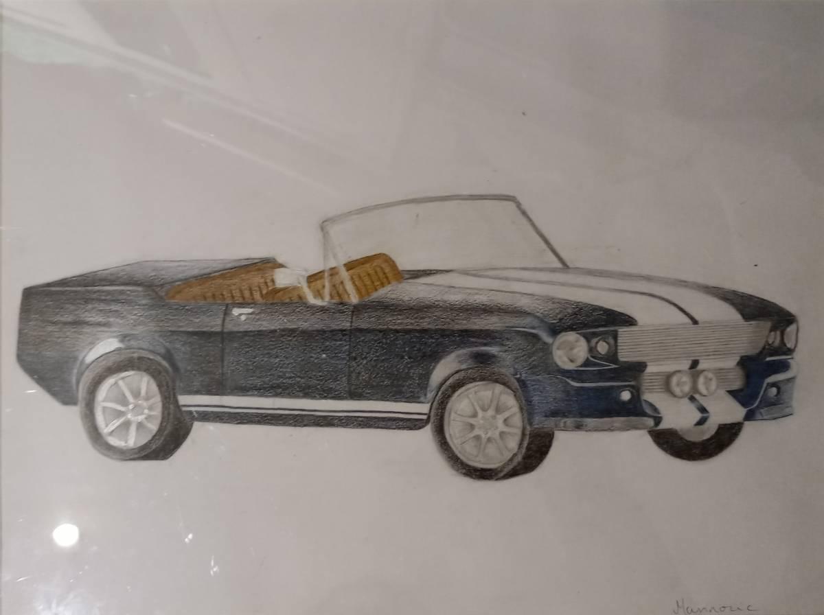 'Old Mustang' von  VanessaM
