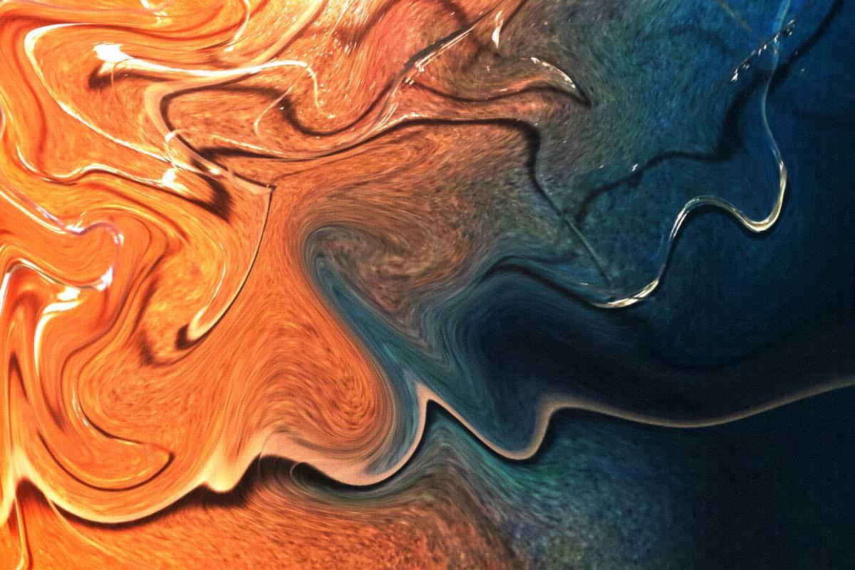 'Flowing' von  peterlorenz